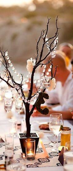 Fall Wedding Tablescape Idea