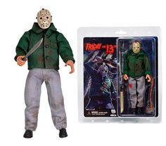 Figura Jason Voorhees, Viernes 13 Parte 3. Retro Classic 20cm, NECA Figura articulada de 20cm, del personaje de Jason Voorhees, en una versión retro con apariencia tal y como aparecía en la tercera parte de la saga.