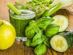 Smoothie-Rezept für einen Grünen Smoothie mit Gruke: So bereiten Sie einen gesunden grünen Gurken-Smoothie zu ...