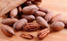 La nuez pecán contiene mas vitaminas que la nuez de castilla. Pecan, Vegetables, Grande, Villa, Food, Vitamin E, Studios, Activities, Green
