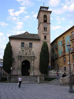 Iglesia de Sta. Ana. Granada. Spain