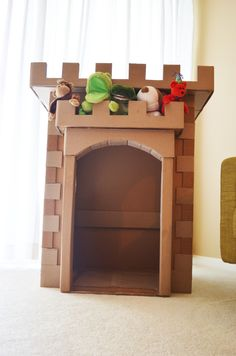 "Cardboard Castle Construction FunWhen I was a child I would build ""forts"" out of boxes, baskets, couch pillows, blankets, anything I could get my hands on. As I grew, I found less and less use for..."
