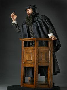 John Knox, Founder of a Calvinist Presbytery in Scotland.
