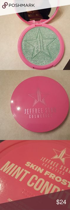 Jeffree Star Skin Frost Highlighter Shade is mint condition Brand new  Authentic, serial number shown jeffree star Makeup