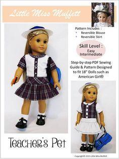 """TEACHER'S PET 18"""" DOLL CLOTHES"""