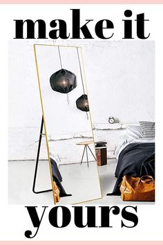 """Best Selling 65""""×22"""" Full-Length Mirror, Floor Mirror with Stand, Full Body Tall Mirror, Leaning, Free Standing or Wall-Mounted, Brushed Thin Frame, for Bedroom, Living Room, Dressing Room Decor - Gold #MODERNFLOORMIRROR #MODERNFLOORMIRRORINBEDROOM #MODERNBEDROOMMIRROR #MODERNBEDROOM #MODERNFARMHOUSE #MODERNFARMHOUSEMIRROR #FLOORMIRROR #MODERNFARMHOUSEFLOORMIRROR #FLOORMIRRORMODERN #MODERNDECORMIRRORBEDROOM #MODERNBEDROOMMIRROR Modern Floor Mirrors, Mirror Floor, Tall Mirror, Modern Window Design, Modern House Design, Modern Bench, Modern Decor, Dressing Room Decor, Beautiful Modern Homes"""
