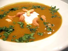 Coconut Curry Butternut Soup and about 10 other equally healthy and delicious soup recipes. pin this now and you will be ready for the first (slightly) cool evening this fall!