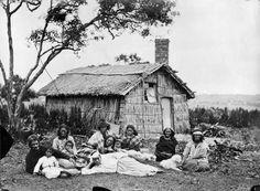 Maori group at Orakei by Herbert Deveril Maori Tribe, Nz History, Maori People, Maori Designs, Maori Art, Journal Themes, Historical Pictures, First Nations, Cabanas