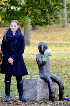 Ingrid Alexandra, Sonja Et Mette Marit De Suède À Oslo, Le 19 Octobre 2017 8