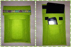 Tablethülle mit integrierter Handytasche Handmade, Homemade, Totes, Hand Made, Craft