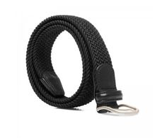 Andersons Black Elasticated Woven Belt