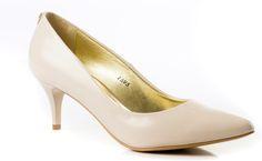 Czółenka wykonane z naturalnej skóry Duffy, Stiletto Heels, Pumps, Shoes, Fashion, Choux Pastry, Moda, Zapatos, Shoes Outlet