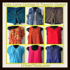 #Updated - Just finished updating Tracey's Closet! #supercute #curvy #clothes #plussize #plussizeclothes #urbanthick #denimvest #size2x #lanebrant #avenue #size18 #size20 #skiets #tops #nwt #preowned UrbanThick.com
