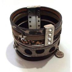 bracelet-cuir-argent-gris.jpg (458×458)