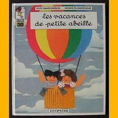 Petite abeille LES VACANCES DE PETITE ABEILLE  Pili Mandelbaum 1984