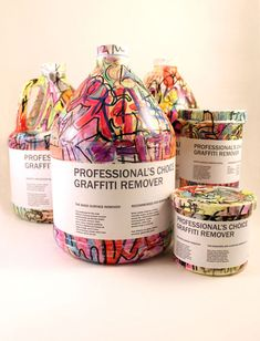 Professional's Choice Graffiti Remover Package Design