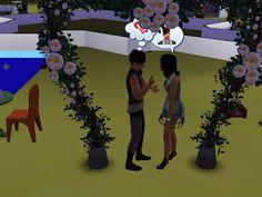 The Sims Screenshots: Casamento de John e Maria + Festival de Verão