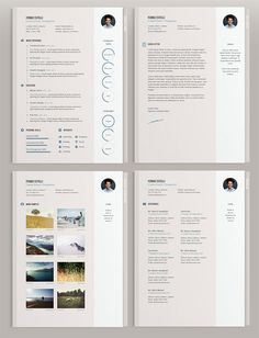 Word  Photoshop  Indesign Resume  Cover Letter Template