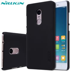Redmi Note 4 case Nillkin Super Frosted Shield Cover For Xiaomi Redmi Note 4 Phone Cases And Screen Protector + Package