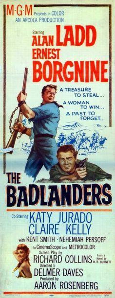 1949 movie posters Belgian | The Badlanders (1958)