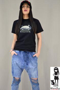Γυναικείο t-shirt Emily T Shirt, Tops, Women, Fashion, Supreme T Shirt, Moda, Tee Shirt, Fashion Styles, Fashion Illustrations