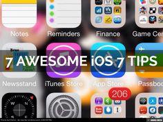 7-awesome-ios-7-tips by @Haiku Deck via @SlideShare