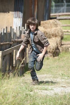Carl Grimes Season 4 is here!!!!