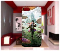 Alice in Wonderland Mad Hatter iPhone cases 4/4S Case iPhone 5 Case Samsung Galaxy S2/S3/S4 Cases Blackberry Z10 Case from GlobalMarket