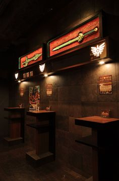 Dragon Quest themed bar in Tokyo.....!
