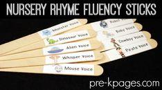 Printable Nursery Rhyme Labels