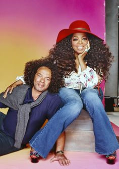 """""""I've been with Andre for 30 years—longer than I've been with Stedman!"""" Oprah says about her beloved hairstylist. Read more about their adventures together:"""