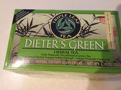 Traditional Triple Leaf Tea, Dieters Green Herbal Tea, 20 tea bags, ,