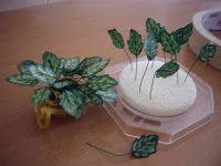 Las miniaturas de Nualamary: Tutorial plantas