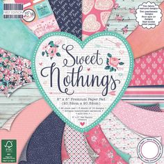 """Sweet Nothings First Edition Premium Paper Pad 8""""X8"""" 48/Pkg retail $14 – Maymay Made It"""