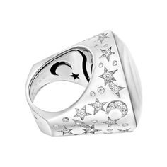 "1stdibs.com | Chanel Sapphire & Diamond ""Comète"" Ring"