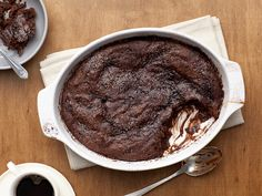Malted Chocolate Pudding Cake Recipe : Food Network Kitchen : Food Network - FoodNetwork.com