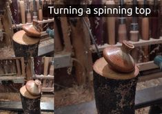 A short video of me turning a spinning top from oak, it's a simple turning project, but the end results are always pleasing, who doesn't love a spinning top. The oak is still a bit green, but it turns well, there's a small video at the end of some of the tops I've made recently. #woodturning #howto #crafts Spinning Top, Wood Turning, Woodworking, Crafty, Simple, Green, Tops, Top, Turning