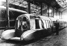 The Zeppelin Train, The Aerotrain And Other Classic Streamlined Trains