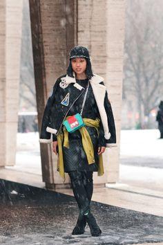 NYFW F/W13 Margaret Zhang