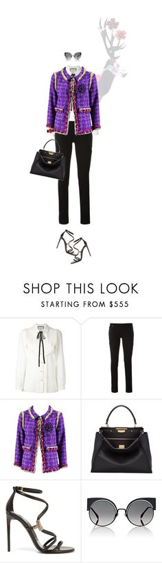 """""""OLAR"""" by land ❤ liked on Polyvore featuring Gucci, Givenchy, Chanel, Fendi, Tom Ford and Rolex"""