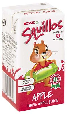 squillos long life juice 100% apple