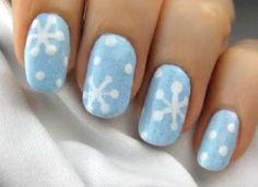 Nail Art Natale 2013: come fare il fiocco di neve!