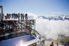 Auf den Spuren von James Bond und Gourmet-Essen im ice Q #sölden #tyrol #austria #restaurant