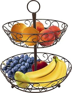 Sorbus 2-Tier Countertop Fruit Basket Holder & Decorative... https://www.amazon.com/dp/B01L0EV3EG/ref=cm_sw_r_pi_dp_x_fwj-zb4DHSB0G