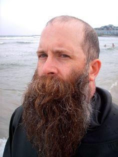 Lost in a good beard. where I wanna be. Bald With Beard, Red Beard, Ginger Beard, Epic Beard, Badass Beard, Ginger Men, Moustache, Walrus Mustache, Frases