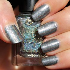 Too Fancy Lacquer Don't Drink The Water (The Holo Grail Box by Dazzled - October 2014)