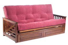 Palm Bifold Sofa Futon Has Drawers On The Fron 530 Delivered