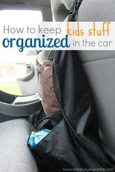 How to organize the car -- Ask Anna