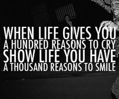 must have a great smile and be able to make me smile even if I don't want too