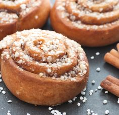 Cinnamonrolls - check the recipe from Scandinavianfood.org